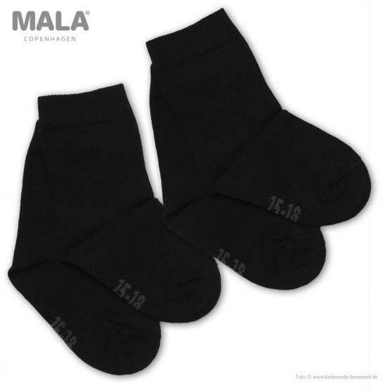 2er-Pack Socken Glesborg 19 | schwarz