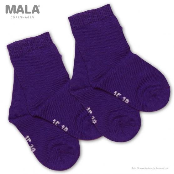 2er-Pack Socken Glesborg 27 | lila