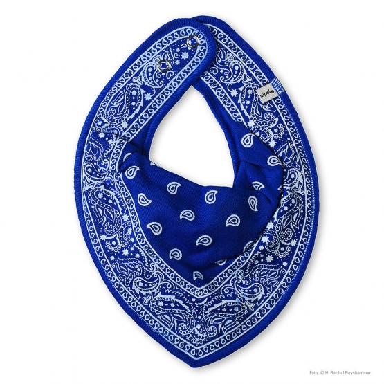 Dreieckstuch Allinge blau
