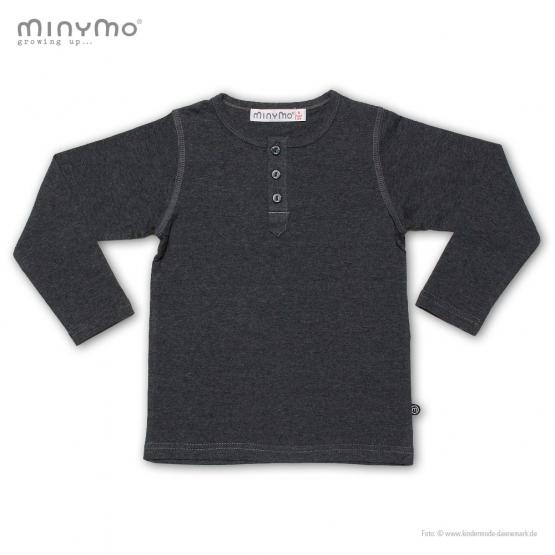 Langarm-Shirt Jerne 98 | dunkelgrau