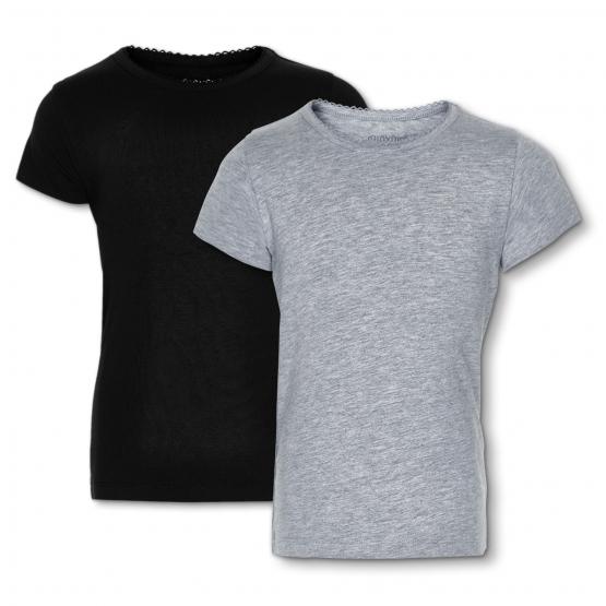 2er-Set: Kurzarm-Shirts Ydby