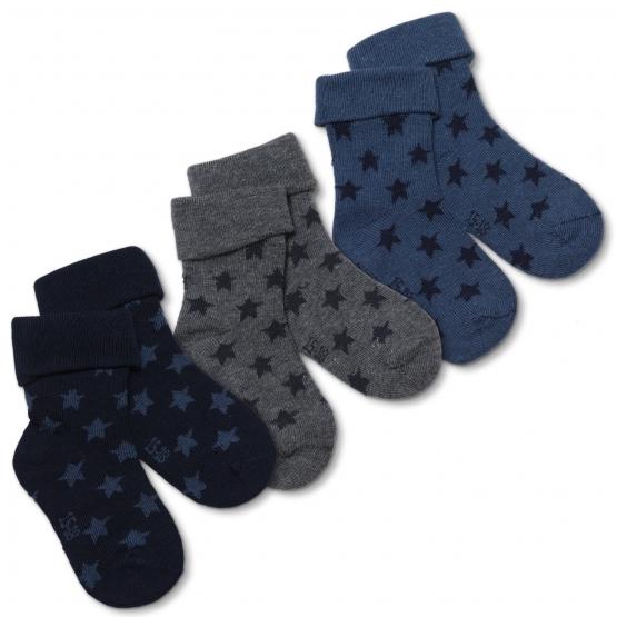 3er-Pack Baby Socken Hjerting 15