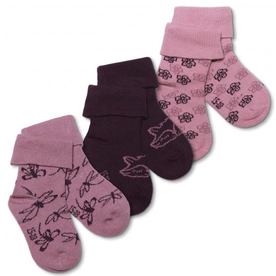 3er-Pack Baby Socken Langetved
