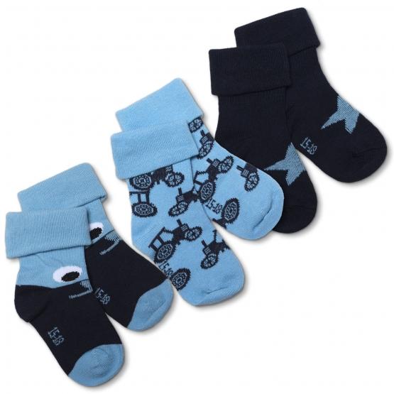 3er-Pack Baby Socken Tirslund