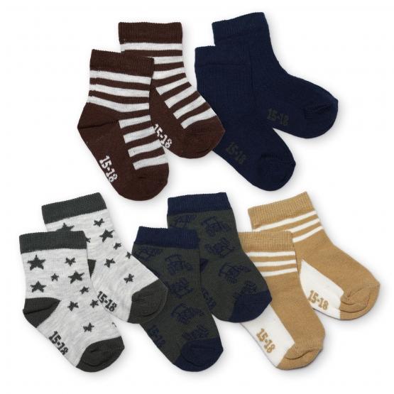 5er-Pack Socken Fovrfelt