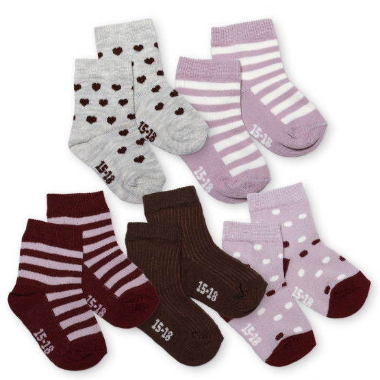 5er-Pack Socken Jedsted