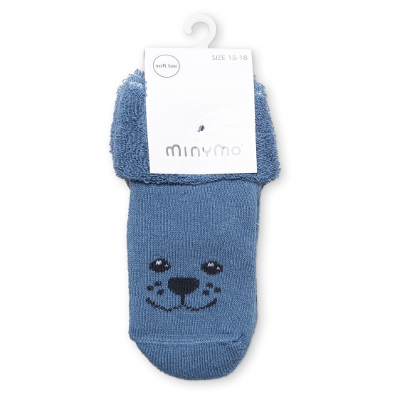 2er-Pack Baby Socken Hvingel 15 | taubenblau