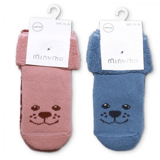 2er-Pack Baby Socken Hvingel
