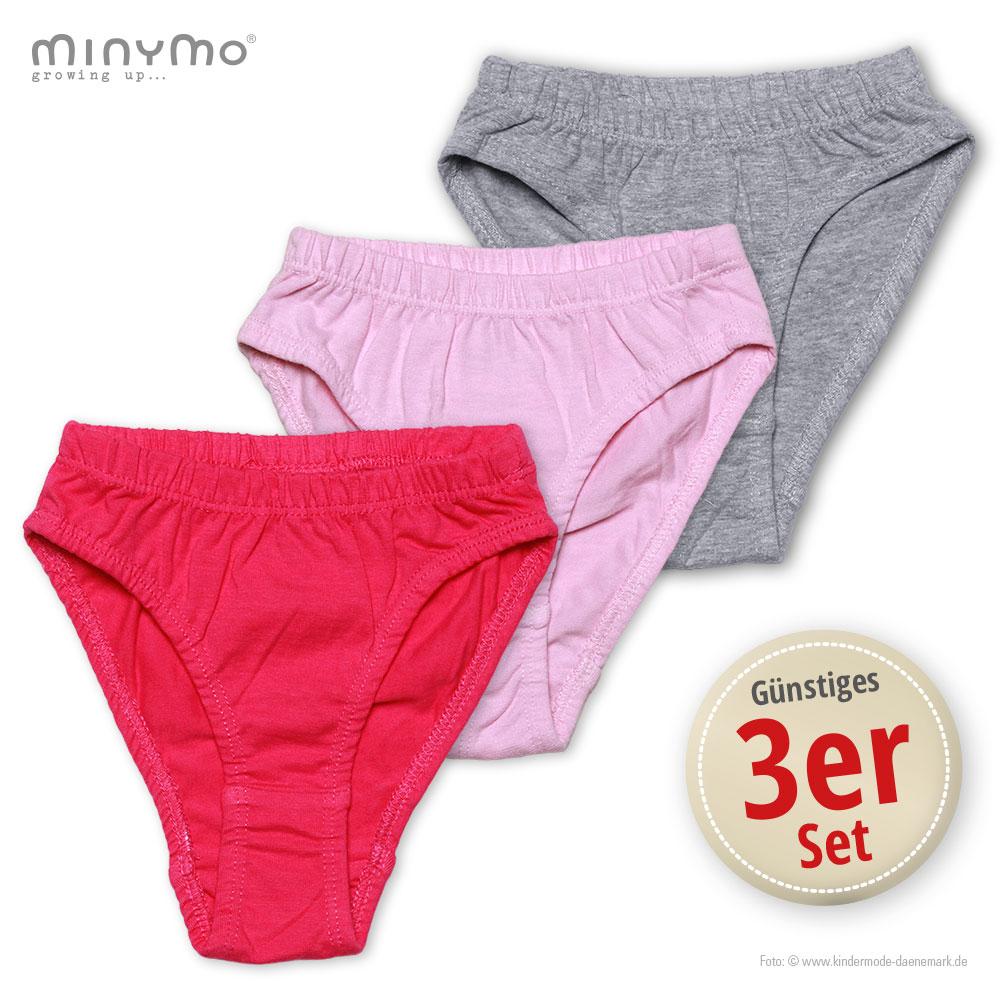 fbe2f3ee98 Kinder Mädchen 3er-Set: Unterhosen Mille online kaufen
